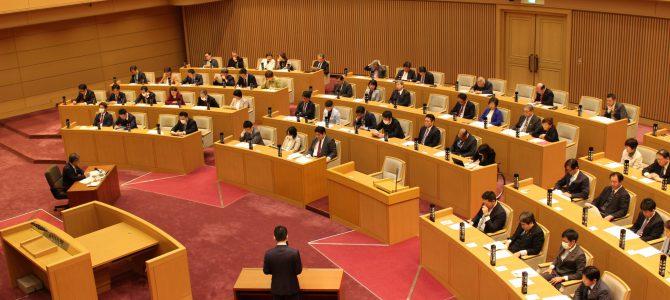 平成31年度予算特別委員会意見表明を行いました